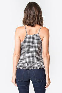 Shirley Gingham Top