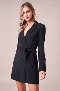 Black Beauty Blazer Dress