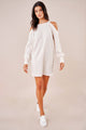 Glory Gal Cold Shoulder Sweater Dress