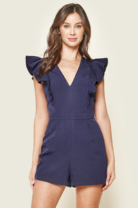Truly Yours Ruffled Romper