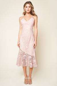 Treasure Me Lace Midi Dress