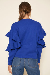 Quinley Ruffle Sweater
