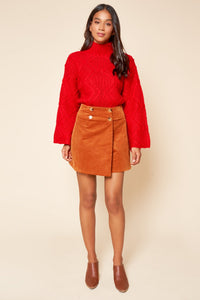 Ivy League Cable Knit Sweater