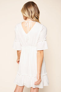 Bernadette Tie Back Mini Dress