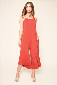 Florence Flowy Sleeveless Jumpsuit