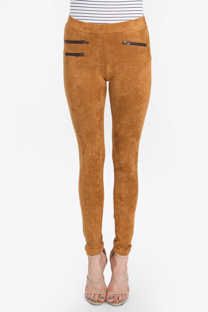 Soha Suede Leggings