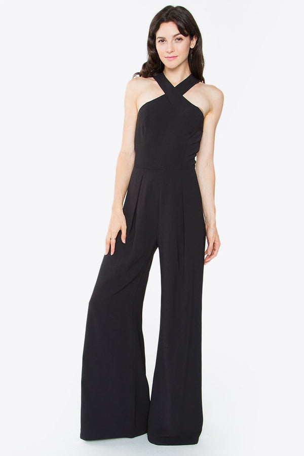Caline Cross Neck Jumpsuit