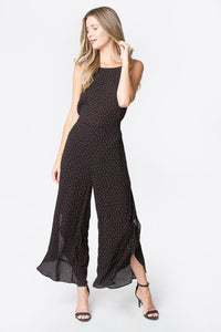 Saw It First Ruffled Jumpsuit