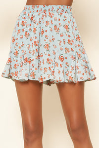 Shelli Floral Drawstring Shorts