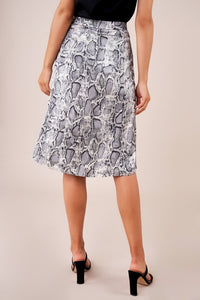 Gone Wild Snakeskin Skirt