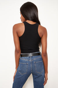 Seamless Ribbed Cropped Tank