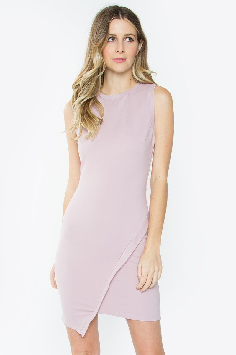 Adena Asymmetric Bodycon Dress