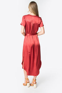 Rosaline Maxi Shirt Dress