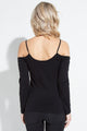 Seamless Cold Shoulder Top - Sale