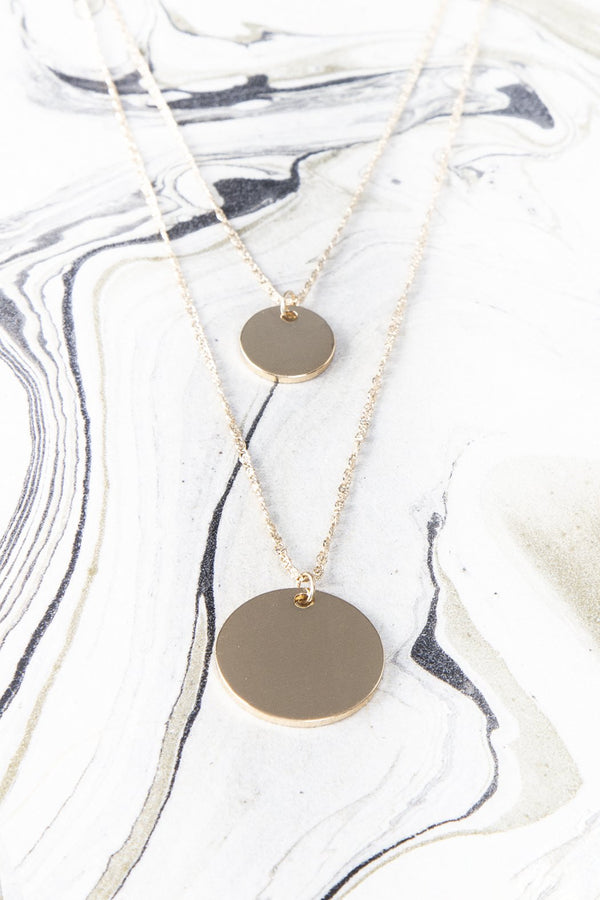 Serefina Layered Gold Necklace