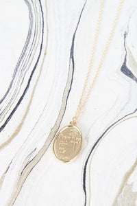 Saint Frances Pendant Necklace