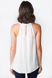 Braid Away Halter Top