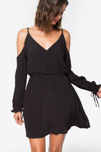 Kinsey Cold Shoulder Dress
