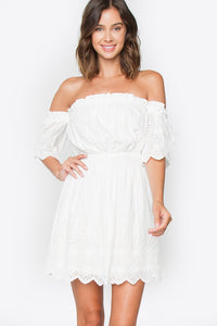Faith Off The Shoulder Dress