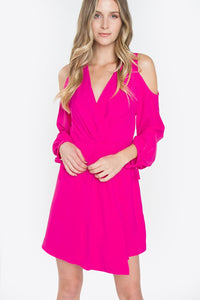Sena Cold Shoulder Dress