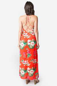 Alianna Floral Maxi Dress