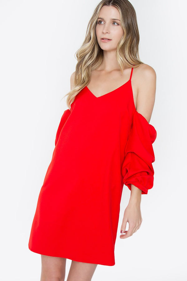 Hadlee Cold Shoulder Dress