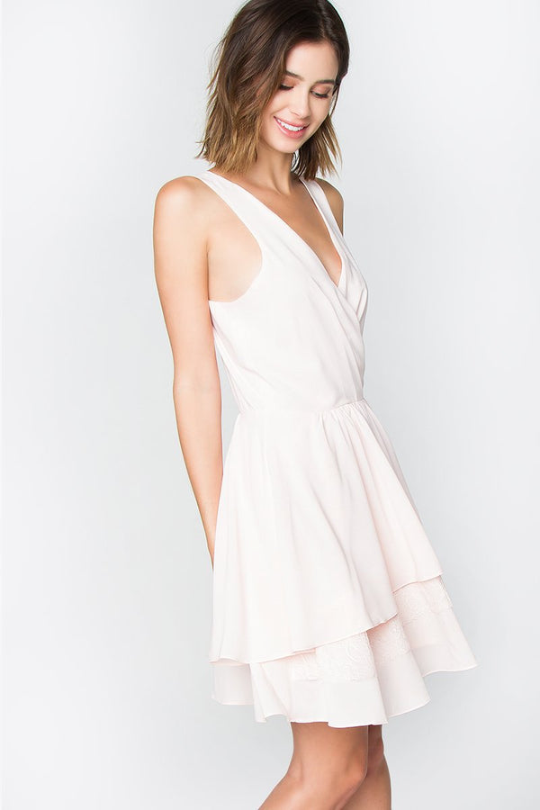 Francis Ruffle Dress