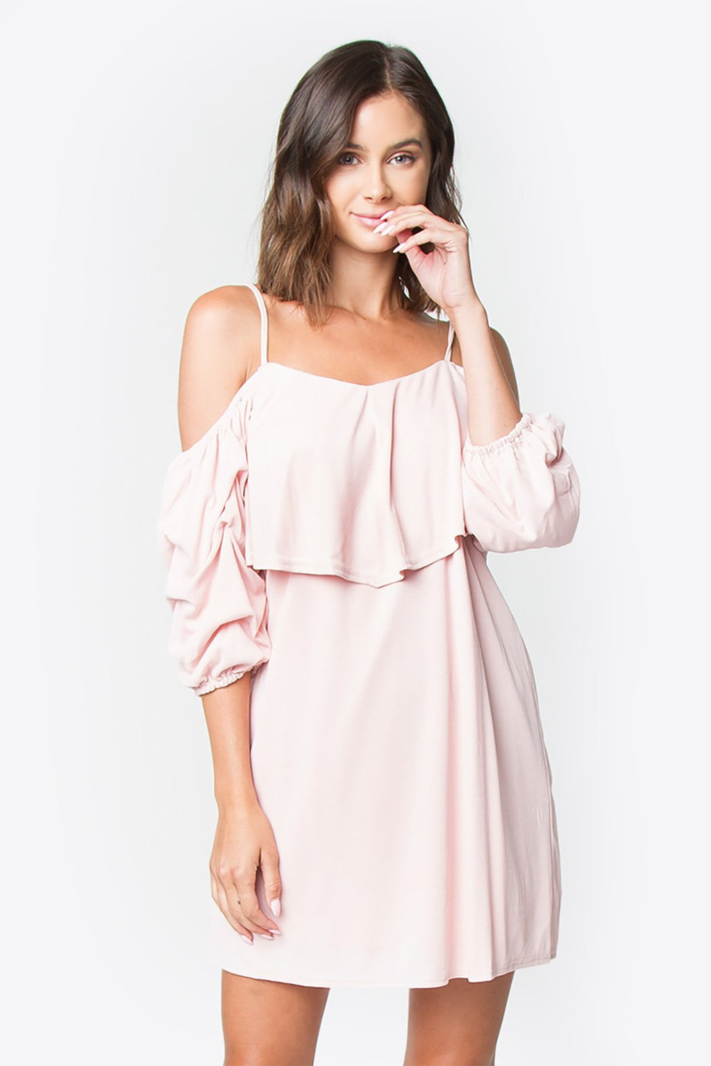 Sela Open Shoulder Dress