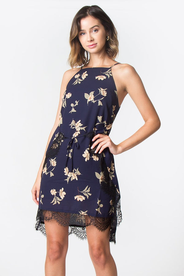 Almee Floral Slip Dress