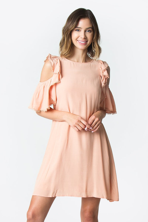 Wesley Cold Shoulder Dress