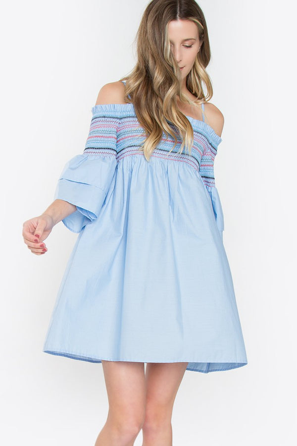 Quincy Cold Shoulder Dress