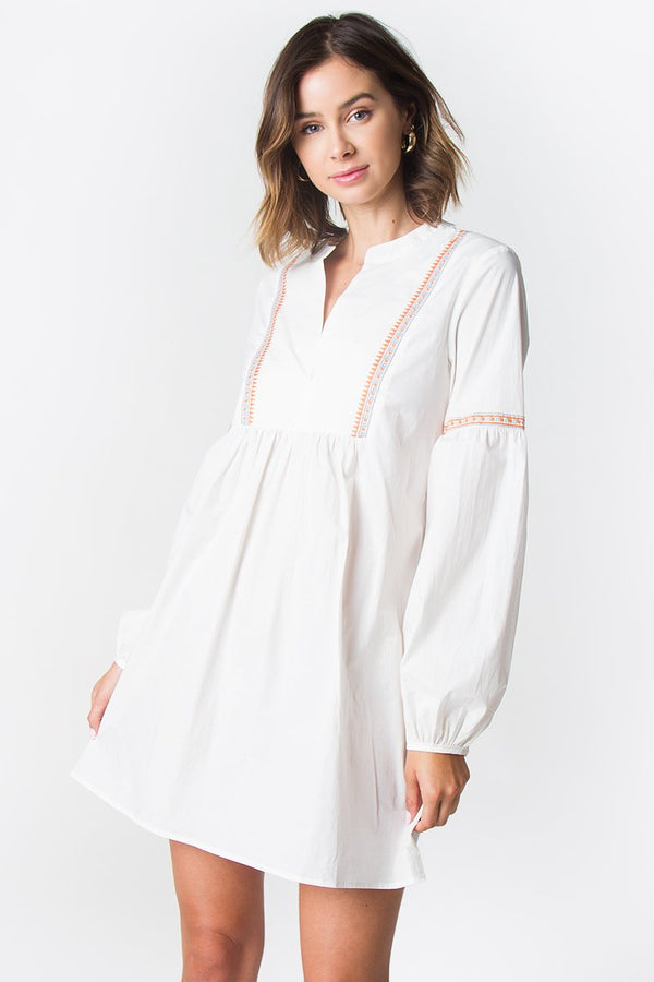 Suki Embroidered Dress