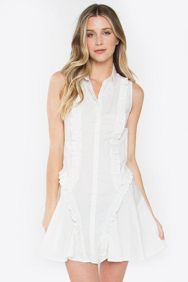Luciano Ruffle Dress