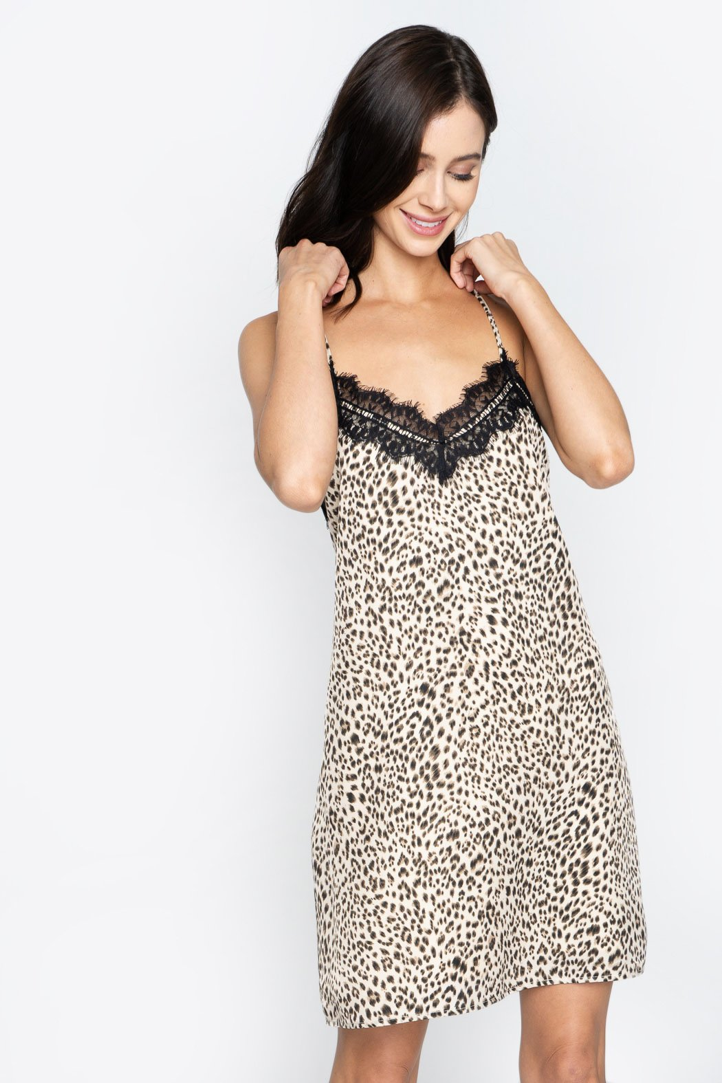 18faf5744a Gianetta Leopard Print Slip Dress – Sugarlips