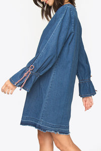 September Denim Dress