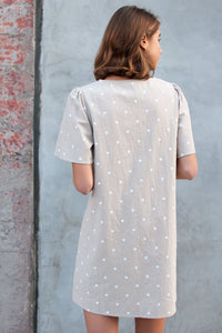 Salem Polka Dot Shift Dress