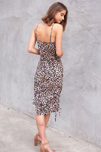 Cale Leopard Maxi Dress
