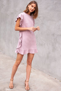 Sagrada Ruffle Edge Dress