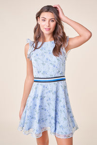 Utopia Floral Fit-N-Flare Dress