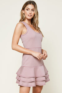 Brenn Ruffle Trim Dress