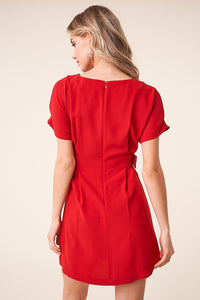 Mali Short Sleeve Shift Dress