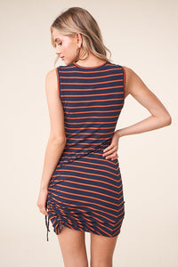 Zambia Striped Knit Dress