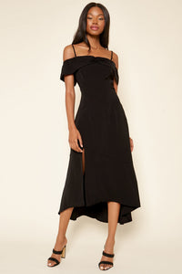 Annabelle Off The Shoulder Maxi Dress
