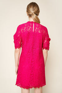 Night Moves Lace Shift Dress