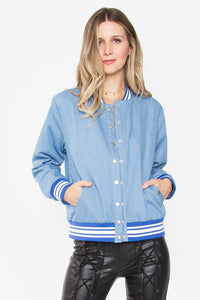 Not Your Baby Bomber Jacket