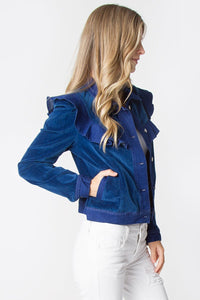 Midnight Dreams Ruffle Jacket