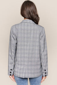 CEO Plaid Blazer