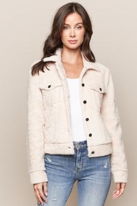 Nikita Faux Fur Tucker Jacket