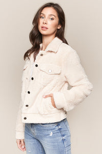 Nikita Faux Fur Trucker Jacket