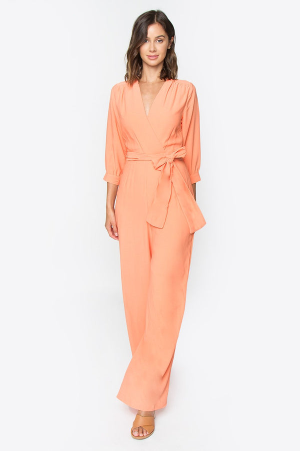 Morgan Wide Leg Jumpsuit